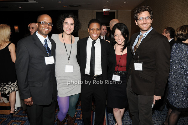 Tyrone Brown,Sanaz Ghajarrahimi, John Michael Hill, Lila Neugebauer, Jeremy Bloom<br /> Tyrone Brown,Sanaz Ghajarrahimi, John Michael Hill, Lila Neugebauer, Jeremy Bloom<br /> all photos by Rob Rich © 2010 robwayne1@aol.com 516-676-3939
