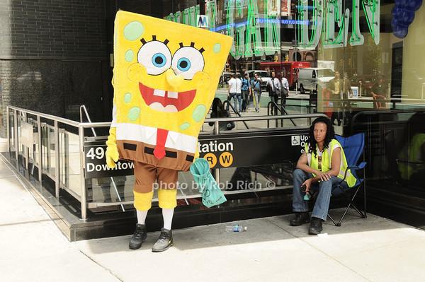 Sponge Bob<br /> all photos by Rob Rich © 2010 robwayne1@aol.com 516-676-3939