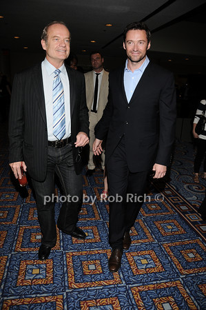 Kelsey Grammer, Hugh Jackman<br /> all photos by Rob Rich © 2010 robwayne1@aol.com 516-676-3939