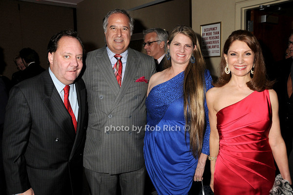 James Nederlander, Stewart Lane, Bonnie Comley, Jeanne Shafiroff<br /> photo by Rob Rich © 2010 robwayne1@aol.com 516-676-3939