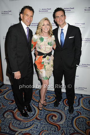 Brian Stokes Mitchell, Jane Krakowski, Cheyenne Jackson<br /> photo by Rob Rich © 2010 robwayne1@aol.com 516-676-3939