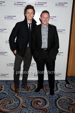 Eddie Redmayne, John Logan<br /> photo by Rob Rich © 2010 robwayne1@aol.com 516-676-3939