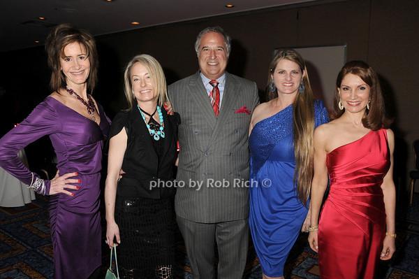 Lee Fryd, Robin Cofer, Stewart Lane, Bonnie Comley, Jeanne Shafiroff<br /> photo by Rob Rich © 2010 robwayne1@aol.com 516-676-3939