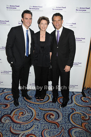 Cheyenne Jackson, Annette Bening, Brian Stokes Mitchell<br /> photo by Rob Rich © 2010 robwayne1@aol.com 516-676-3939