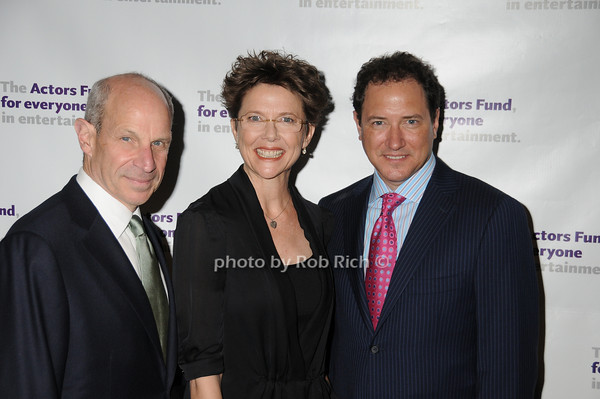 Jonathan Tisch, Anette Bening, Kevin McCollum<br /> photo by Rob Rich © 2010 robwayne1@aol.com 516-676-3939