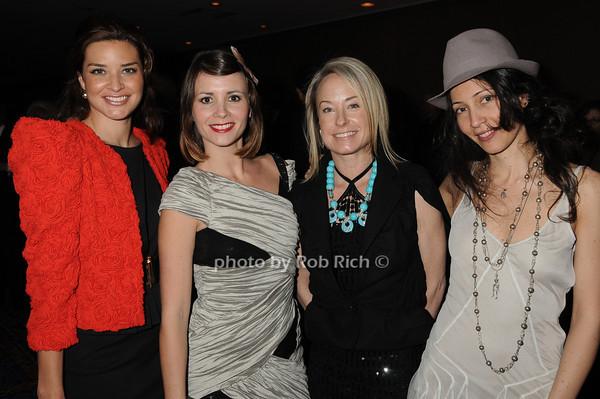 Susanna Colmenar, Paola Roman, Robin Cofer, Ester Montoro<br /> photo by Rob Rich © 2010 robwayne1@aol.com 516-676-3939