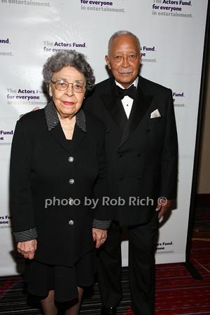 Joyce Dinkins, Mayor David Dinkins photo by R.Cole for Rob Rich© 2012 robwayne1@aol.com 516-676-3939