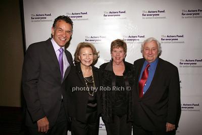 Brian Stokes Mitchell, Sylvia Steiner, Abby Schrader, David Steiner photo by R.Cole for Rob Rich© 2012 robwayne1@aol.com 516-676-3939