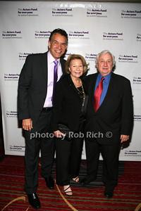 Brian Stokes Mitchell, Sylvia Steiner, David Steiner photo by R.Cole for Rob Rich© 2012 robwayne1@aol.com 516-676-3939