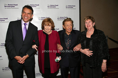 Brian Stokes Mitchell, Anne Meara, Jerry Stiller, Abby Schrader photo by R.Cole for Rob Rich© 2012 robwayne1@aol.com 516-676-3939