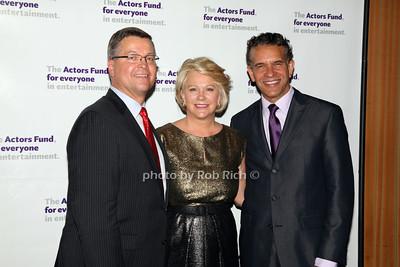 Michael J. Stengel, Mrs Stengel, Brian Stokes Mitchell