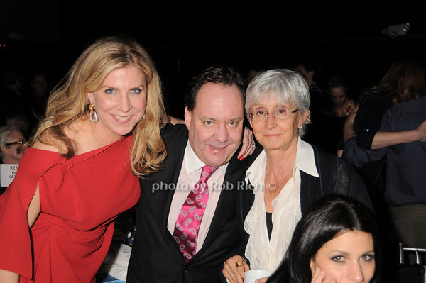 Margo Nederlander, James Nederlander, Twyla Tharp <br /> photo by Rob Rich © 2010 robwayne1@aol.com 516-676-3939