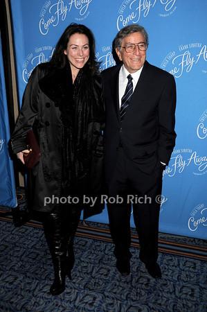 Antonia Bennett, Tony Bennett<br /> photo by Rob Rich © 2010 robwayne1@aol.com 516-676-3939