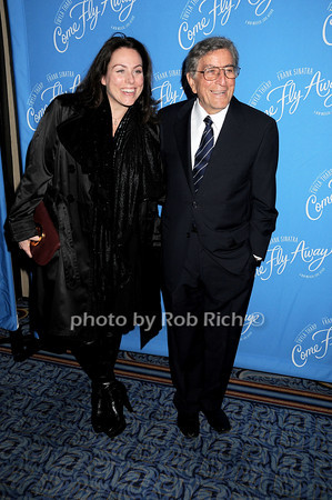 Antonia Bennett, Tony Bennett<br /> photo by Rob Rich © 2010 robwayne1@aol.com 516-676-3939