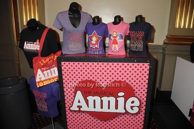ANNIE merchandise photo by Rob Rich/SocietyAllure.com © 2012 robwayne1@aol.com 516-676-3939