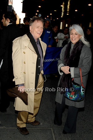 Dick Cavett and Jamie de Roy