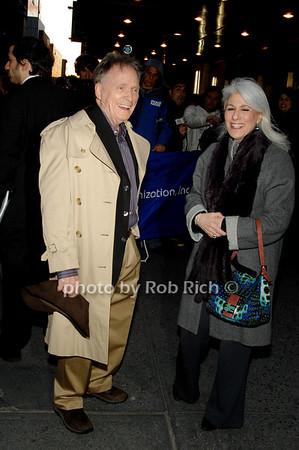 Dick Cavett and Jamie de Roy