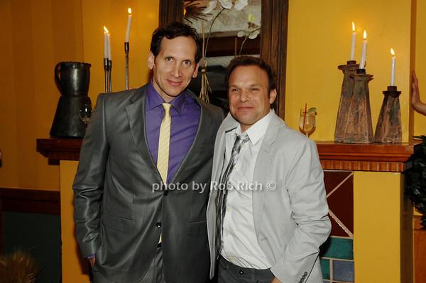 Stephen Kunken and Norbert Leo Butz