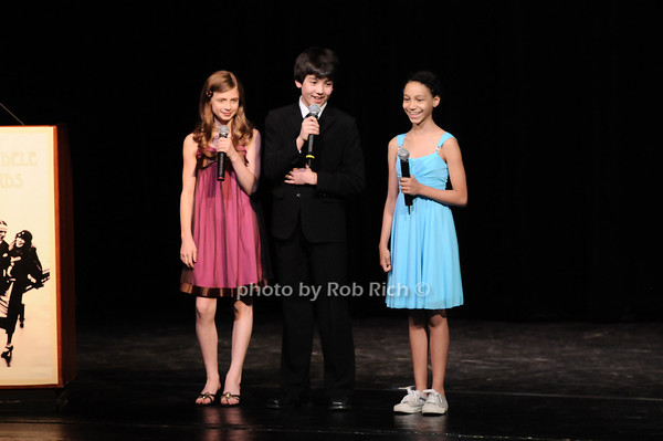 Kyra Ynez Siegel , Alex Ko and Laurissa Romain