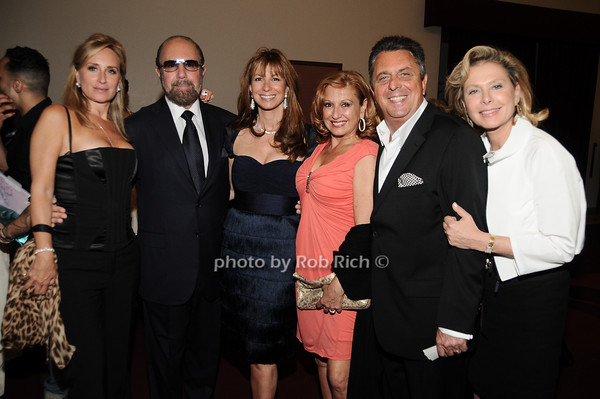 Sonja Morgan, Bobby Zarin, Jill Zarin, Michelle Rella, Frank Rella. Pamela Morgan