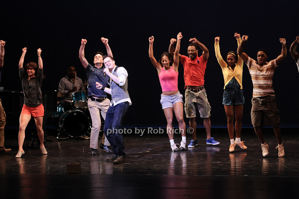"castmembers from ""Memphis""