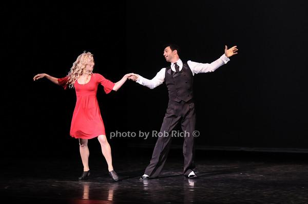 "Samantha Zack, Tony Dovolani (""Steppin Out"") photo by Rob Rich © 2010 robwayne1@aol.com 516-676-3939"