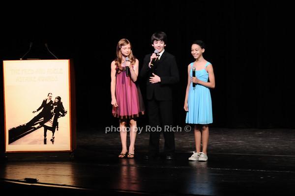 Kyra Ynez Siegel , Alex Ko and Laurissa Romain photo by Rob Rich © 2010 robwayne1@aol.com 516-676-3939