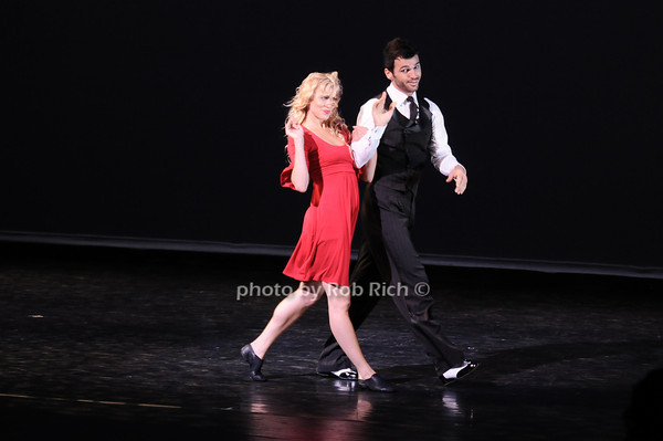 "Samantha Zack, Tony Dovolani (""Steppin Out"")