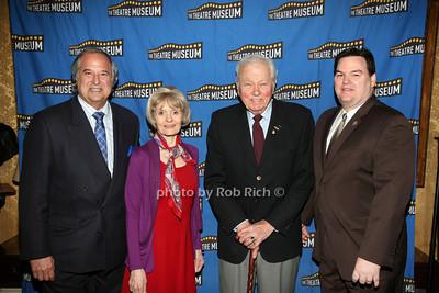 Stewart F. Lane, Helen Guditis,  Frederick Olsson, Jim Claffey photo by R.Cole for Rob Rich  © 2012 robwayne1@aol.com 516-676-3939