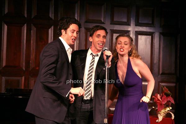 Noah Racey, Kevin Cahoon, Jennifer Evans