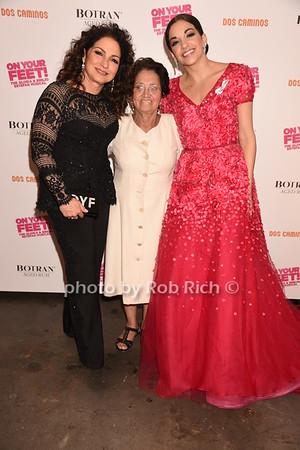 Gloria Estefan, Dora Suarez, Ana Villafane photo by Rob Rich/SocietyAllure.com © 2016 robwayne1@aol.com 516-676-3939