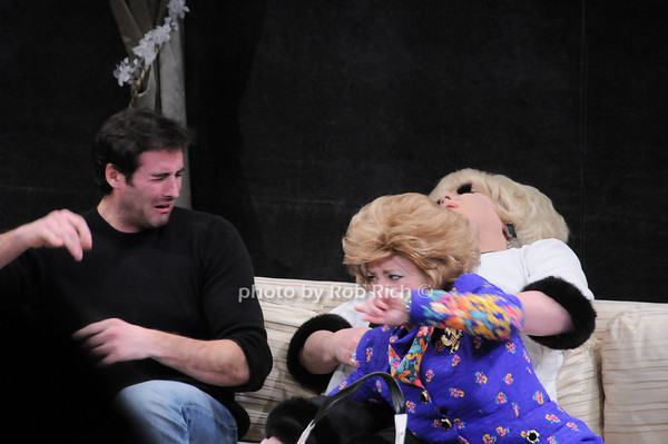 Matthew Pender,Tina McKissick, Lady Bunny<br /> photo by Rob Rich © 2010 robwayne1@aol.com 516-676-3939