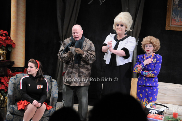 Rebecca Dealy, Richard James Porter, Lady Bunny, Tina McKissick<br /> photo by Rob Rich © 2010 robwayne1@aol.com 516-676-3939