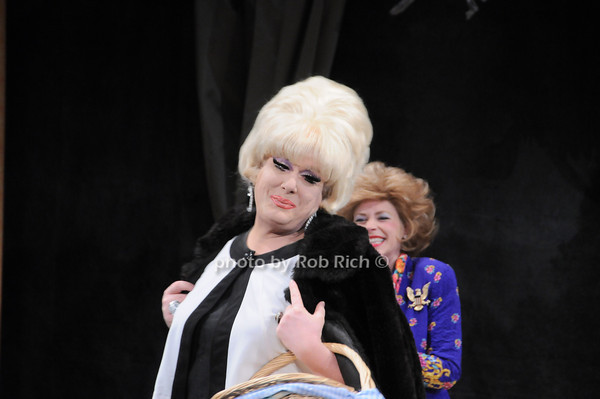 Lady Bunny, Tina McKissick<br /> photo by Rob Rich © 2010 robwayne1@aol.com 516-676-3939