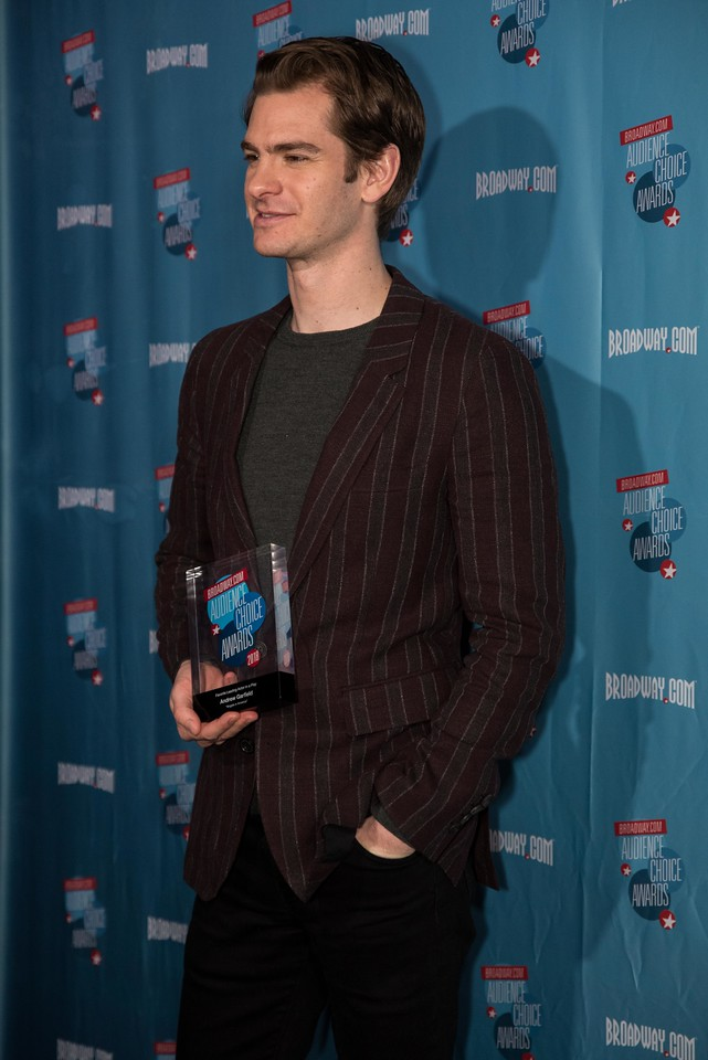 ANDREW GARFIELD on the Red Carpet