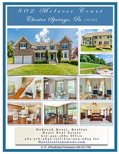 802 Melrose Court, Chester Springs Brochure