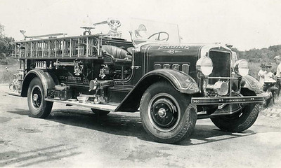 Engine 6 a 1936 Maxim and the only Maxim ever bought by the city. It was never used as a front line rig and was destoryed in an accident.