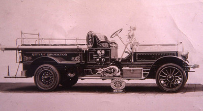 ENGINE 5 1919 SEAGRAVE. this piece finally went in service on September 10, 1902 and marked the offical end of the horse drawn era.