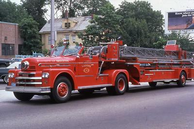 1966 Seagrave 100' tt