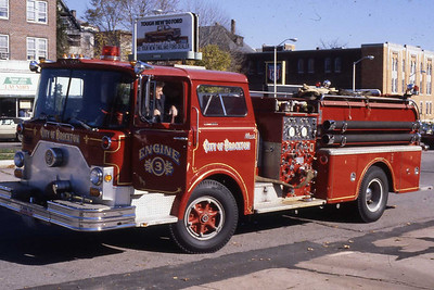 Engine 3, 1971 Mack cf 1000 gpm.