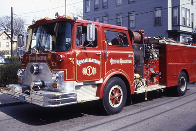 Combination 1 a 1979 Mack, started as Engine 4.