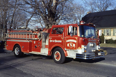Combination 5, 1773 Mack 1000 gpm. Started as Squad A.