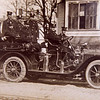 Squad A, 1909 Pope Hartford. The first motorized rig in the city.