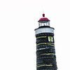 A lighthouse undergoes a facelift