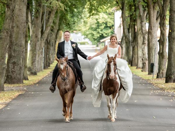 Bröllopsfoto Sofia och Daniel