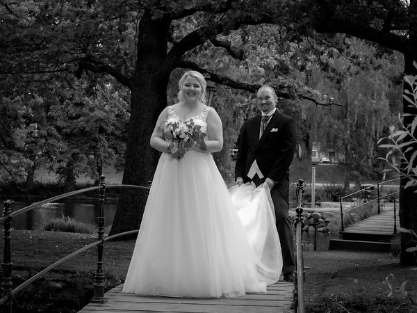 Bröllopsfoto Veronica och Johan