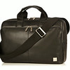 "Newbury Leather Zip Briefcase 15"" 155-256-BLK"