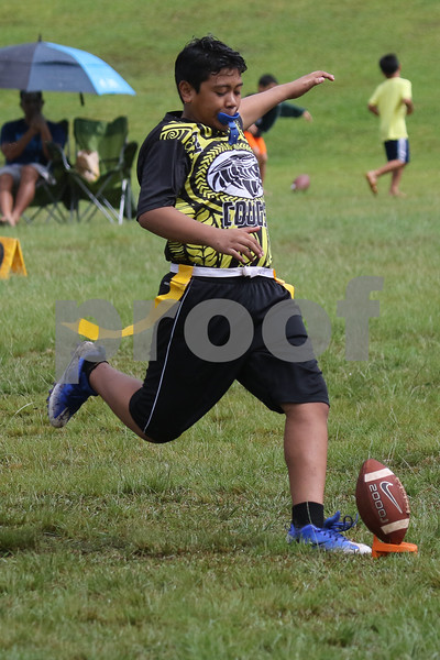 Bronco Mililani vs Wailua PAL Flag Football
