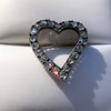 Victorian Rose Cut Witches Heart Pin 6