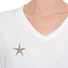 1.38ctw Victorian 5-Star Convertible Pin-Pendant 2
